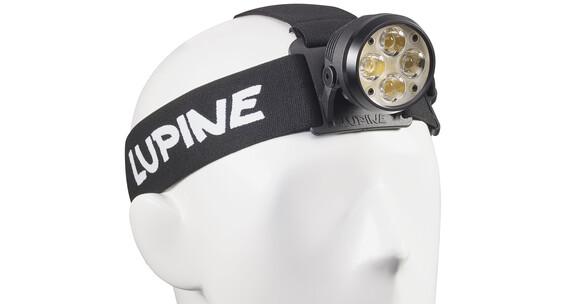 Lupine Wilma X7 hoofdlamp zwart